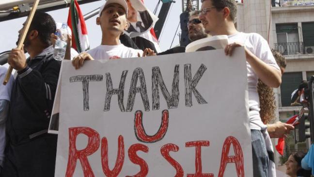 Rosyjska ambasada ostrzelana z moździerzy