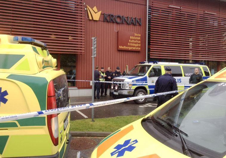 Szwecja: atak nożownika na szkołę w Trollhättan