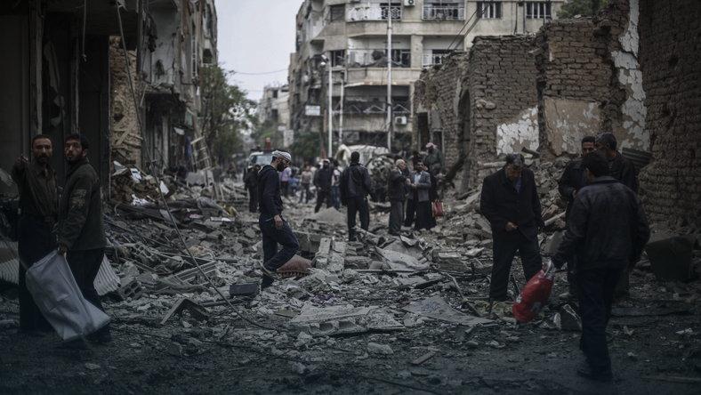 Syria: 3 500 osób opuściło ostatnie rebelianckie rejony Aleppo