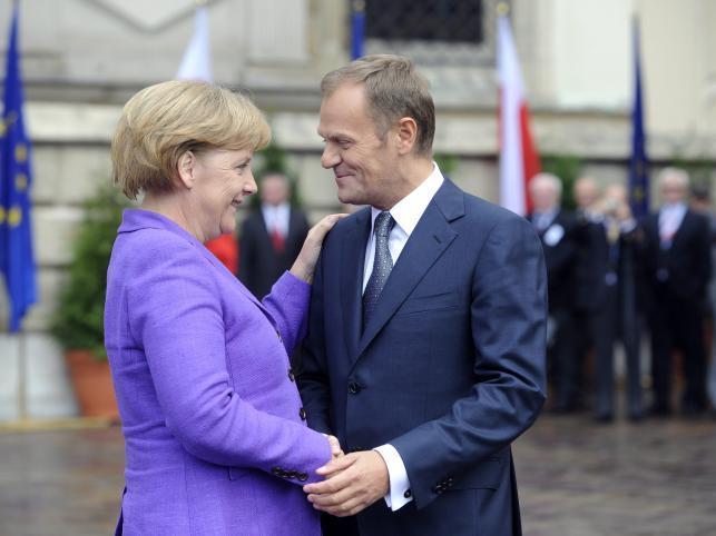 Donald Tusk chce większego zaangażowania Niemiec w ochronę granic UE