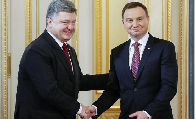 Ukraińska prasa o wizycie Andrzeja Dudy: Rozwiał obawy