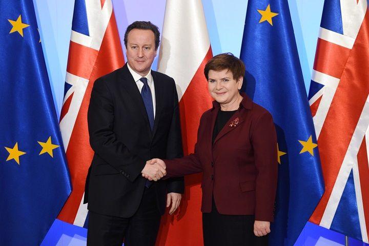 Szydło: Wielka Brytania strategicznym partnerem Polski