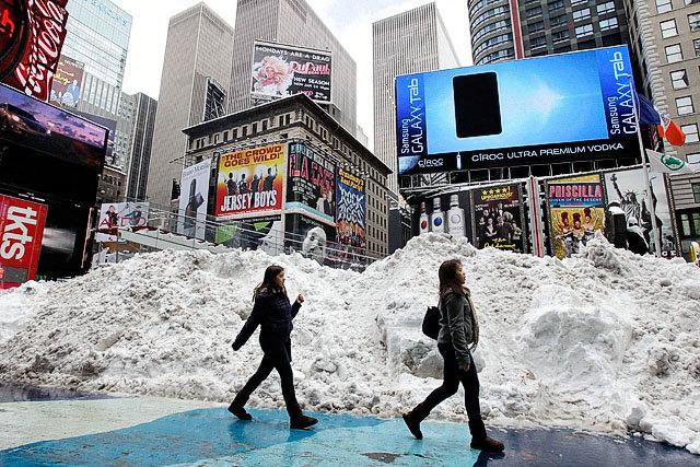 Atak zimy w USA. Zginęło już 19 osób, Nowy Jork sparaliżowany