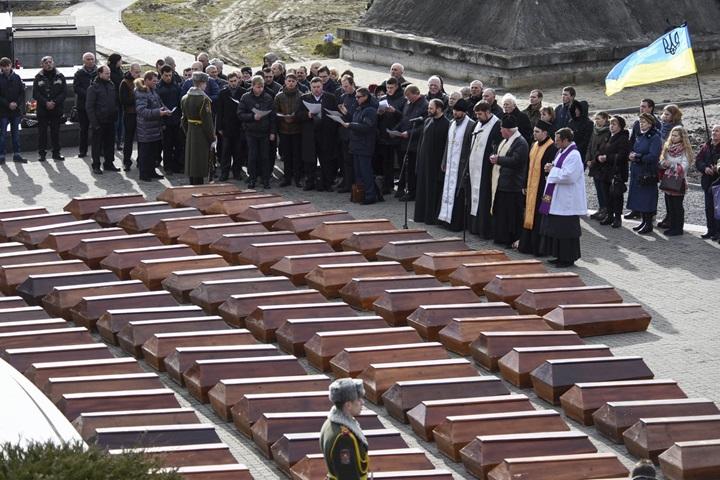 We Lwowie pochowano szczątki ponad 500 nieznanych ofiar NKWD