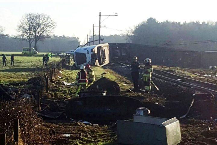 Holandia: wypadek pociągu na wschodzie kraju