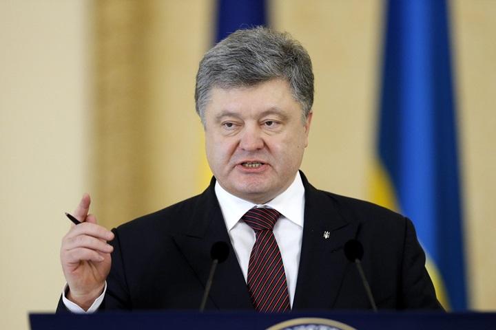 Ukraina: Poroszenko wezwał NATO do wysłania okrętów wojennych na Morze Azowskie