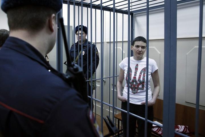 Nadija Sawczenko rozpoczęła suchą głodówkę