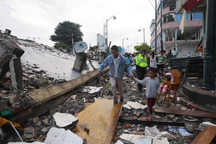 Silne trzęsienie ziemi nawiedziło Ekwador