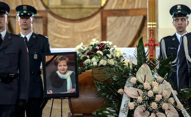 Pogrzeb Zyty Gilowskiej. Byłą wicepremier żegnają najważniejsze osoby w państwie