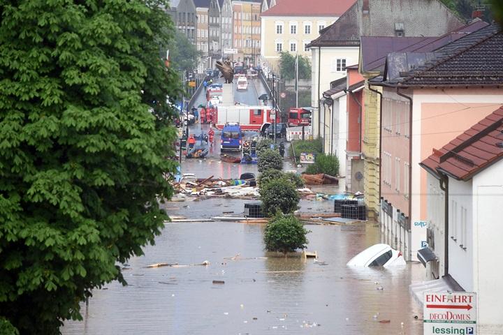 Powódź w Bawarii – stan klęski żywiołowej, 3 osoby nie żyją