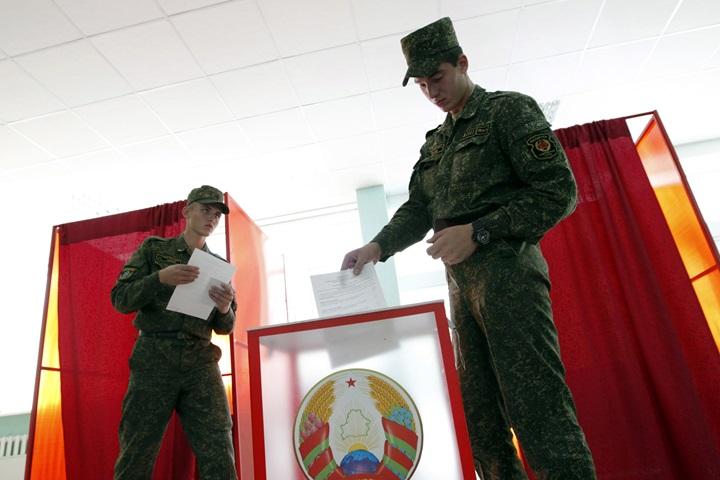 Ponad 30 proc. frekwencji w przedterminowym głosowaniu na Białorusi