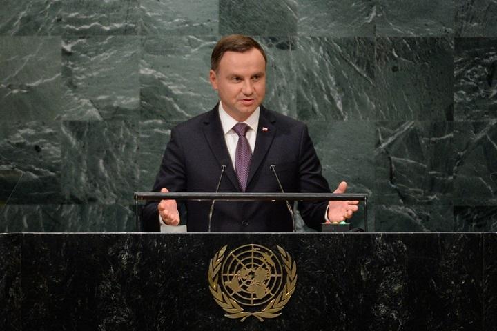 Prezydent A.Duda na 71. Sesji zgromadzenia Ogólnego ONZ