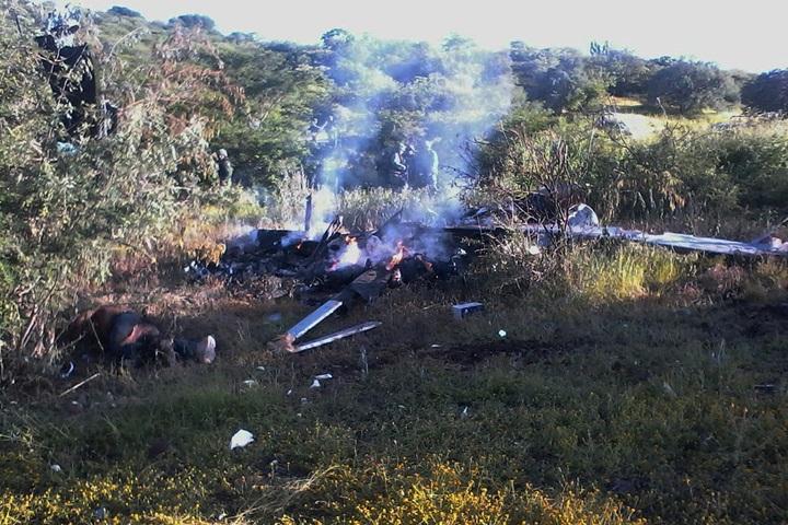 Meksyk: przestępcy zestrzelili policyjny śmigłowiec