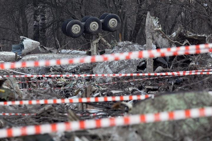 Polscy prokuratorzy w Smoleńsku kończą badanie wraku Tu-154M