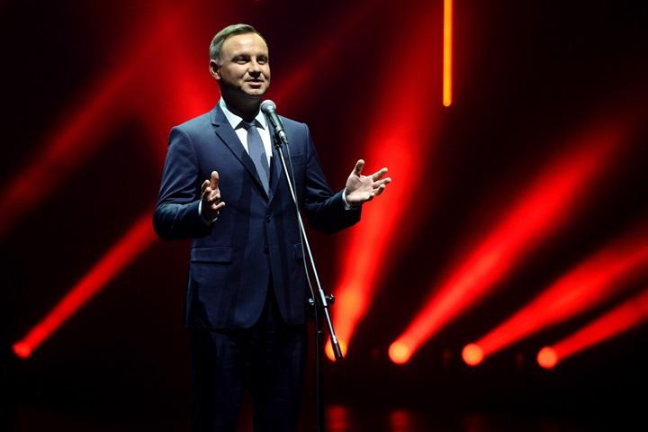 Prezydent: giełda symbolem sukcesu polskich przemian