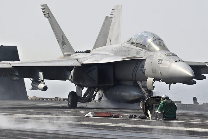 USA: zderzenie w powietrzu 2 myśliwców; nikt nie zginął