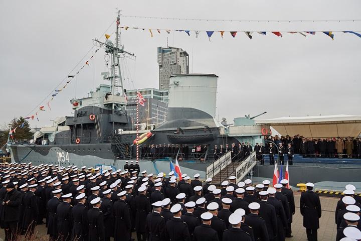 Prezydent na obchodach 98. rocznicy odtworzenia Marynarki Wojennej w Gdyni