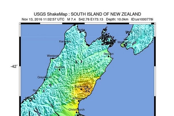 Trzęsienie ziemi w Nowej Zelandii; ogłoszono ostrzeżenie przed tsunami