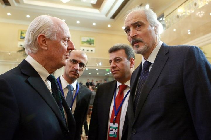 Kazachstan: rozpoczęły się rozmowy pokojowe w sprawie konfliktu w Syrii