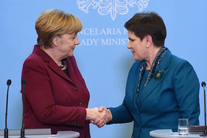 Duda i Merkel o USA, UE i Ukrainie bez fundamentalnych różnic