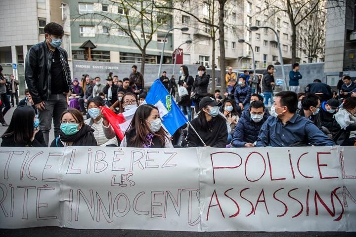 W Paryżu kolejna noc starć po zabiciu Chińczyka przez policję
