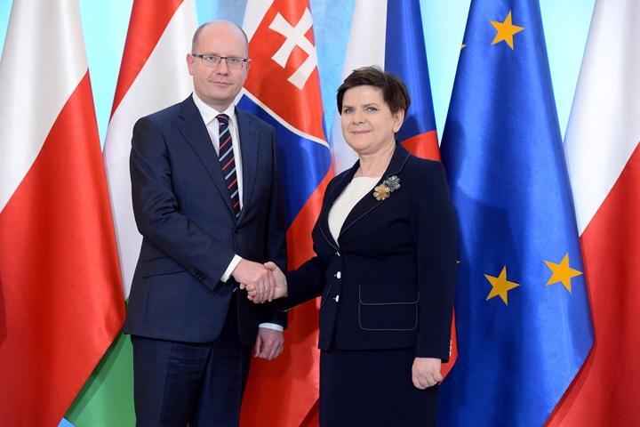 Spotkanie premierów państw Grupy Wyszehradzkiej