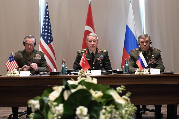 Spotkanie szefów sztabów generalnych Turcji, Rosji i USA na temat Syrii