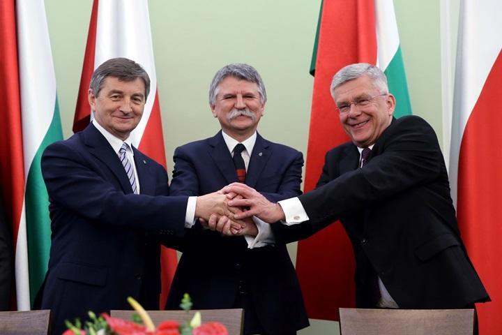 Szefowie parlamentów Polski i Węgier podpisali porozumienie o partnerstwie strategicznym