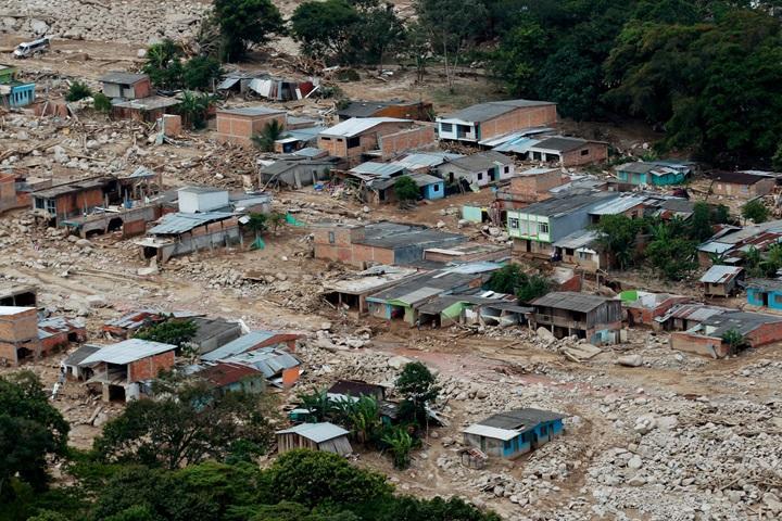 Kolumbia: już 290 ofiar śmiertelnych lawiny błotnej w Mocoa