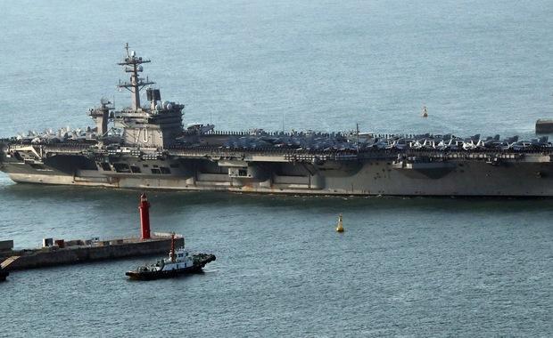 USA skierowały grupę uderzeniową okrętów i bombowce na Bliski Wschód
