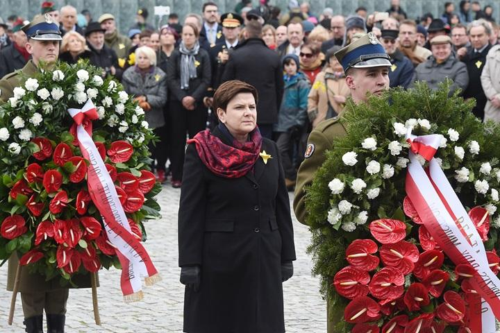 Obchody 74. rocznicy wybuchu powstania w warszawskim getcie