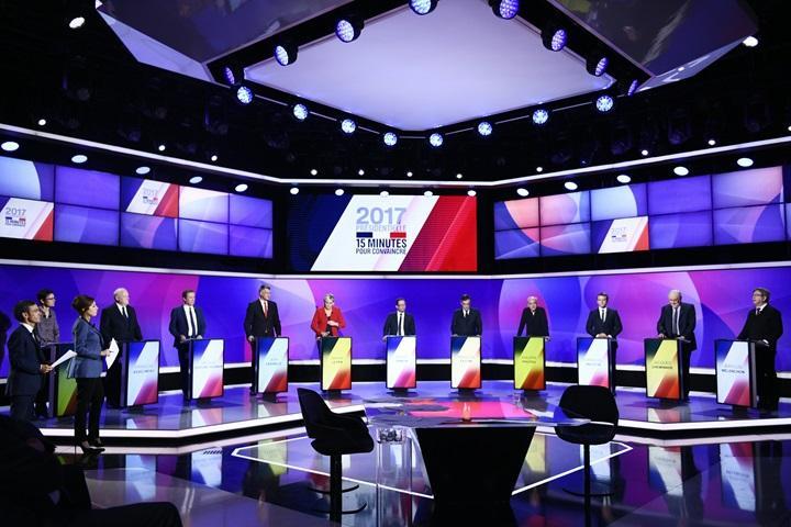 Francja: pierwsza tura wyborów prezydenckich