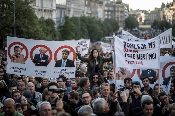 Czechy: demonstranci domagali się ustąpienia ministra finansów Babisza