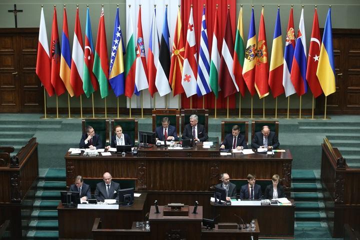 W Sejmie szczyt szefów parlamentów państw Europy Środkowej i Wschodniej
