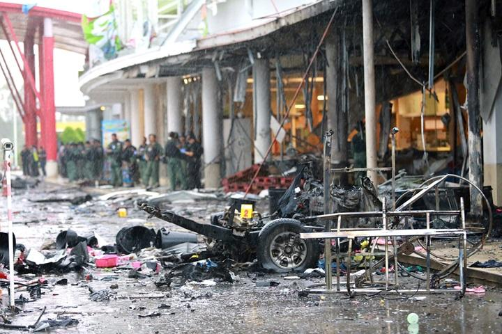 Ponad 50 osób rannych w zamachu na centrum handlowe w Tajlandii
