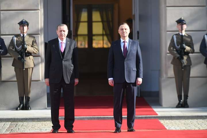 Prezydent Turcji rozpoczął wizytę w Polsce