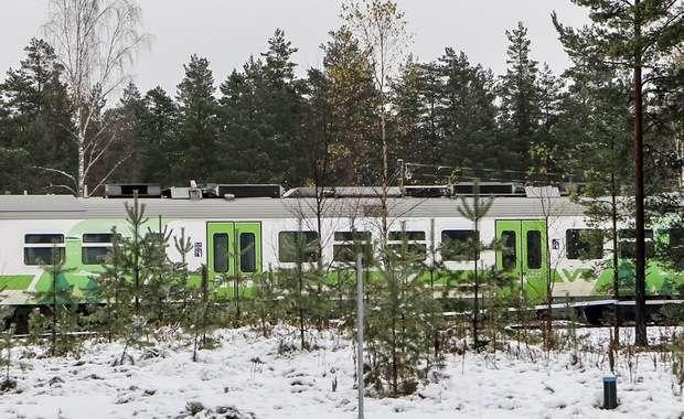 Kolizja pociągu i pojazdu wojskowego w Finlandii
