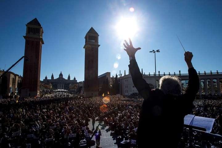 """Tysiące Katalończyków wzięło udział w """"muzycznych protestach"""""""