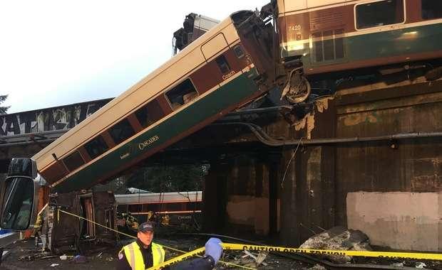 Katastrofa kolejowa w USA. Władze podały nowy bilans ofiar