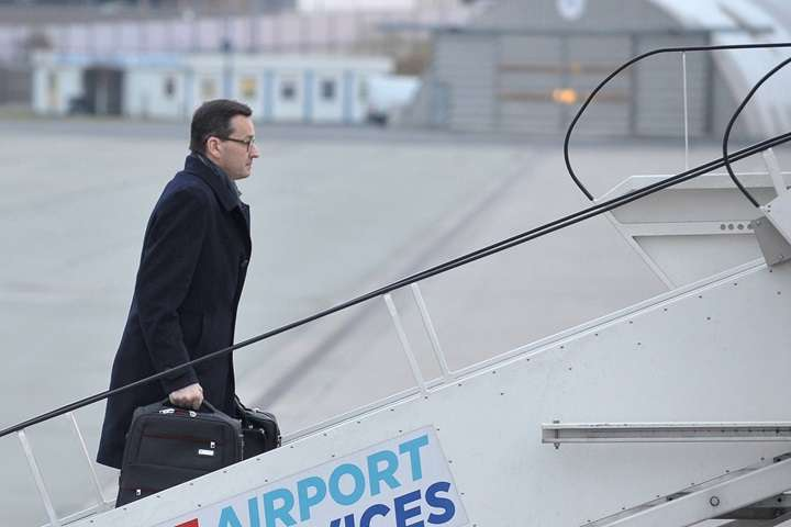 Morawiecki przybył z pierwszą zagraniczną wizytą na szczyt UE