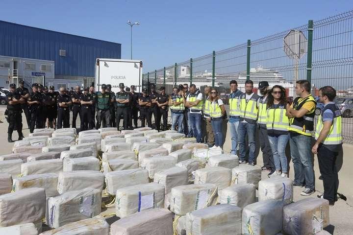 W 2017 r. w Hiszpanii przejęto rekordową ilość kokainy