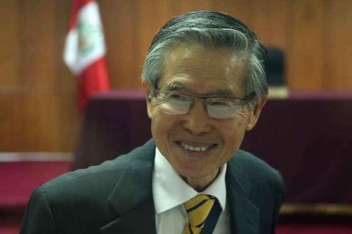 Peru: b. prezydent Peru Alberto Fujimori stanie przed sądem