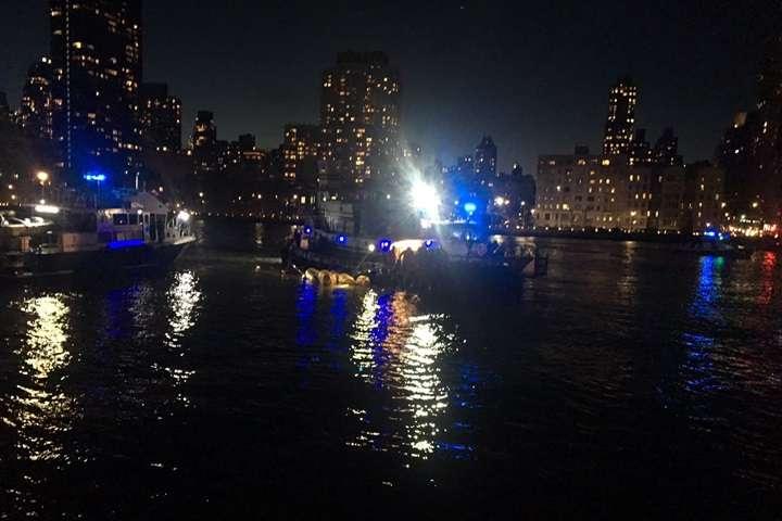USA: katastrofa śmigłowca w Nowym Jorku; zginęły dwie osoby