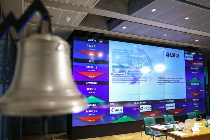 KRD: długi spółek z GPW wzrosły w ostatnim półroczu do prawie 38 mln zł