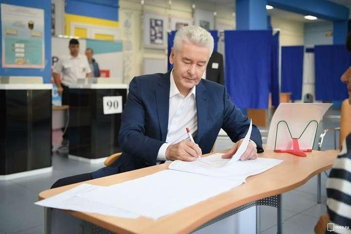 Rosja: Sobianin otrzymał 70 proc. głosów w wyborach mera Moskwy