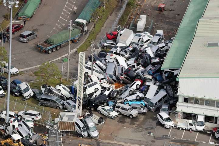 Japonia: rośnie liczba ofiar tajfunu Jebi