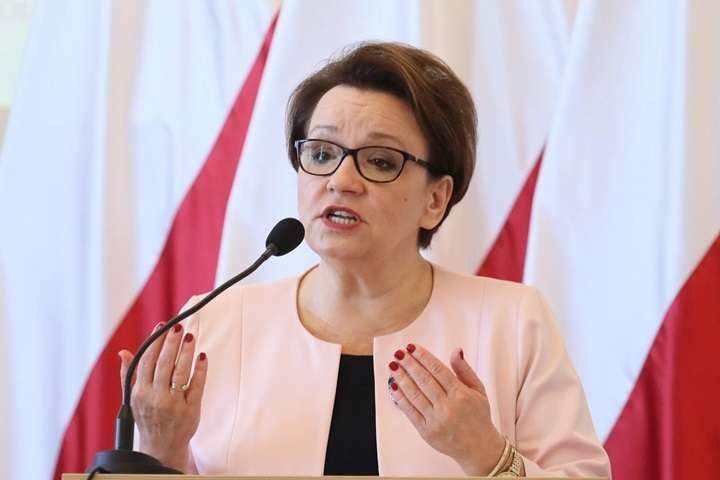 Sejm nie zgodził się na odwołanie minister edukacji