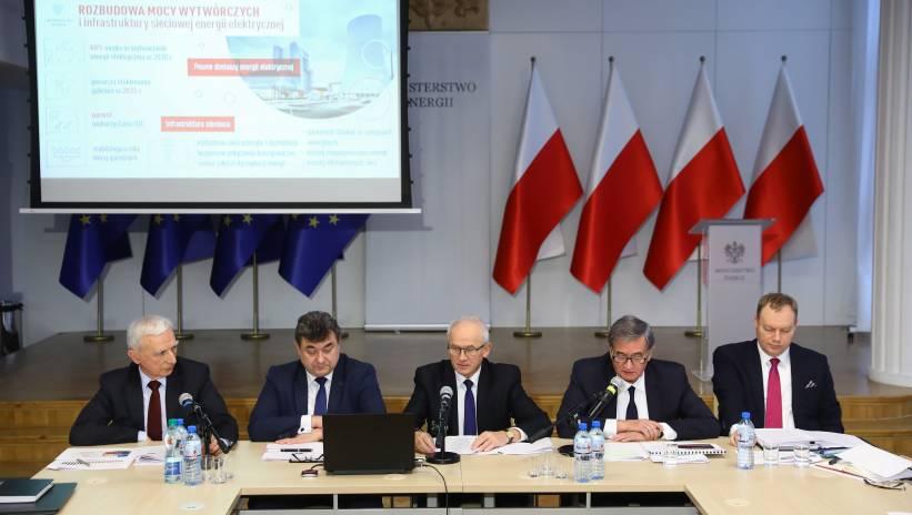 Ministerstwo Energii przedstawiło projekt polityki energetycznej do 2040 r.