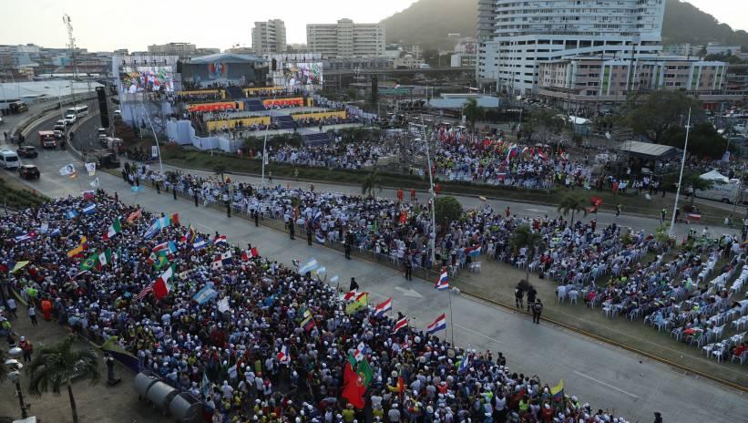 Panama: dziesiątki tysięcy osób na otwarciu Światowych Dni Młodzieży z papieżem