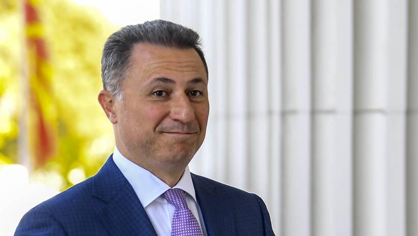 B. premier Macedonii: uciekłem na Węgry, ponieważ bałem się o swoje życie